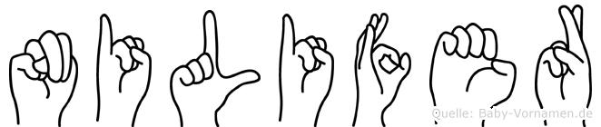 Nilifer in Fingersprache für Gehörlose
