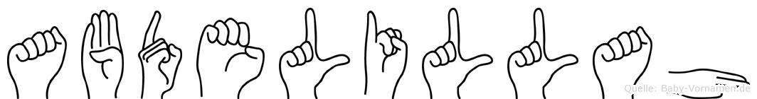 Abdelillah in Fingersprache für Gehörlose