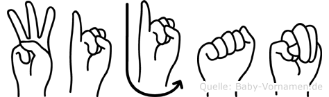 Wijan in Fingersprache für Gehörlose
