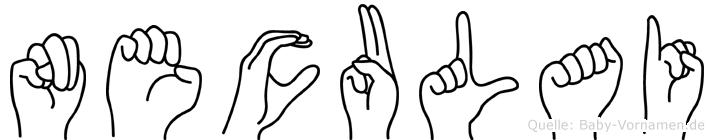 Neculai in Fingersprache für Gehörlose