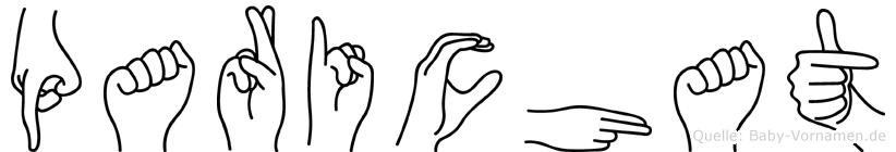 Parichat im Fingeralphabet der Deutschen Gebärdensprache