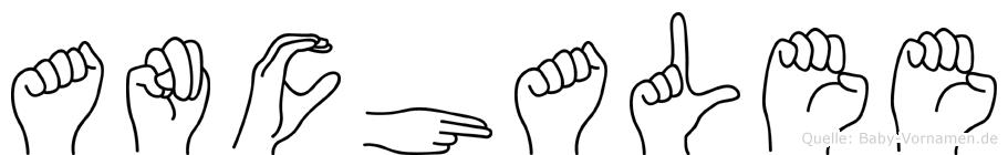 Anchalee in Fingersprache für Gehörlose