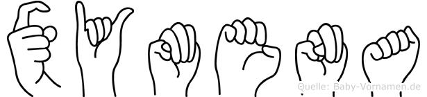 Xymena in Fingersprache für Gehörlose