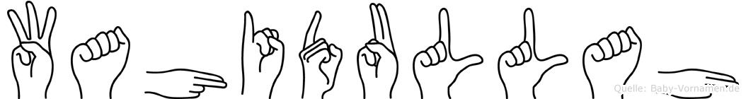 Wahidullah im Fingeralphabet der Deutschen Gebärdensprache