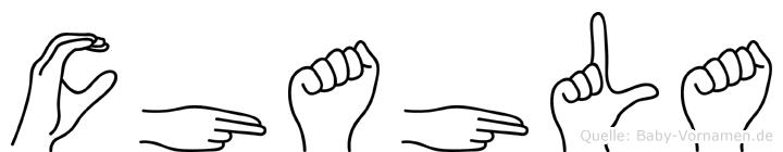 Chahla in Fingersprache für Gehörlose