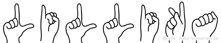 Lillika in Fingersprache für Gehörlose