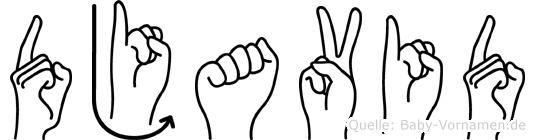Djavid in Fingersprache für Gehörlose