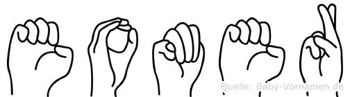 Eomer in Fingersprache für Gehörlose