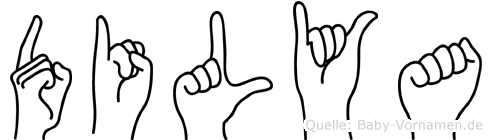 Dilya in Fingersprache für Gehörlose