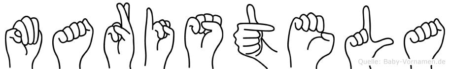 Maristela in Fingersprache für Gehörlose