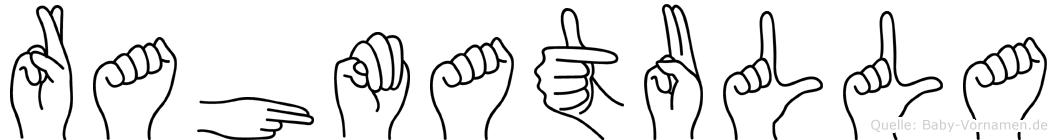 Rahmatulla in Fingersprache für Gehörlose
