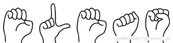 Eleas in Fingersprache für Gehörlose