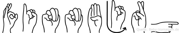 Finnbjörg in Fingersprache für Gehörlose