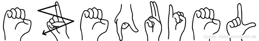Ezequiel in Fingersprache für Gehörlose