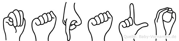 Mapalo in Fingersprache für Gehörlose