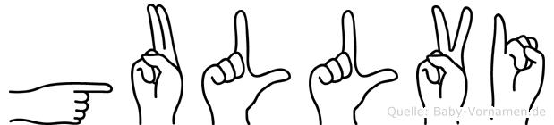 Gullvi in Fingersprache für Gehörlose