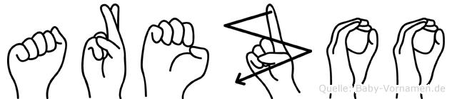 Arezoo im Fingeralphabet der Deutschen Gebärdensprache