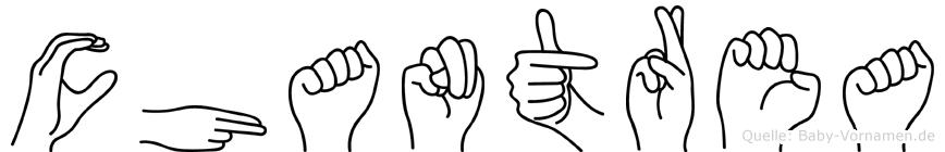 Chantrea in Fingersprache für Gehörlose