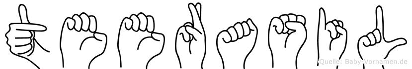 Teerasil in Fingersprache für Gehörlose