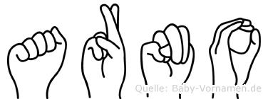 Arno in Fingersprache für Gehörlose
