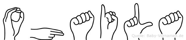 Ohaila in Fingersprache für Gehörlose