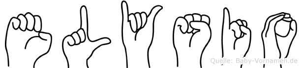 Elysio in Fingersprache für Gehörlose
