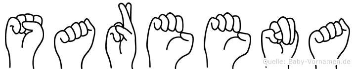 Sareena in Fingersprache für Gehörlose