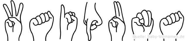 Waipuna in Fingersprache für Gehörlose
