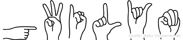 Gwilym in Fingersprache für Gehörlose