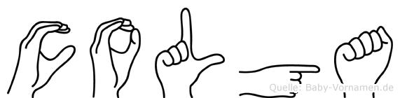 Colga in Fingersprache für Gehörlose