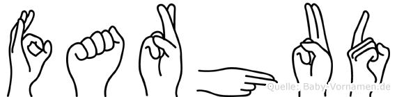 Farhud in Fingersprache für Gehörlose