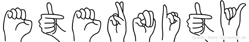 Eternity in Fingersprache für Gehörlose