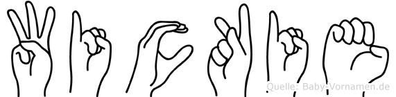 Wickie in Fingersprache für Gehörlose