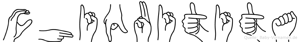 Chiquitita in Fingersprache für Gehörlose