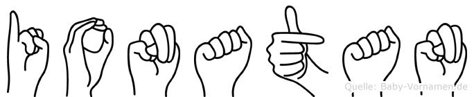 Ionatan in Fingersprache für Gehörlose