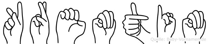 Kremtim in Fingersprache für Gehörlose