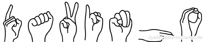 Davinho in Fingersprache für Gehörlose