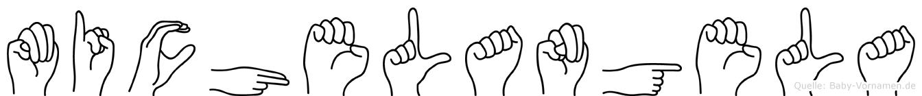 Michelangela in Fingersprache für Gehörlose