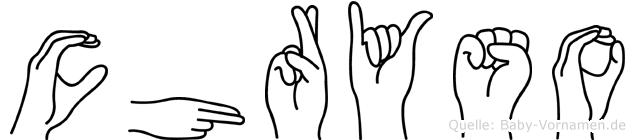 Chryso in Fingersprache für Gehörlose