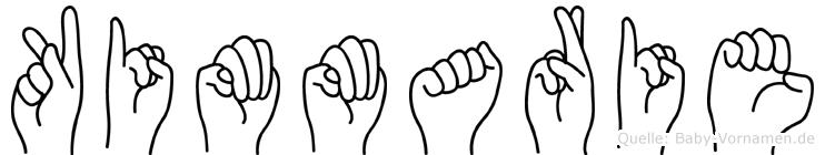 Kimmarie in Fingersprache für Gehörlose