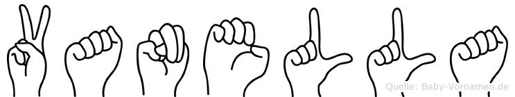 Vanella in Fingersprache für Gehörlose