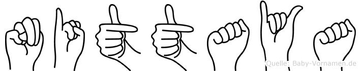 Nittaya in Fingersprache für Gehörlose