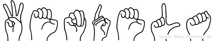 Wendela in Fingersprache für Gehörlose
