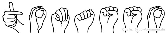 Tomasso in Fingersprache für Gehörlose