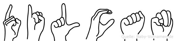 Dilcan in Fingersprache für Gehörlose