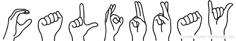 Calfuray in Fingersprache für Gehörlose