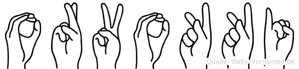 Orvokki in Fingersprache für Gehörlose