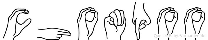 Chompoo in Fingersprache für Gehörlose
