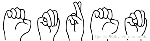 Emren in Fingersprache für Gehörlose