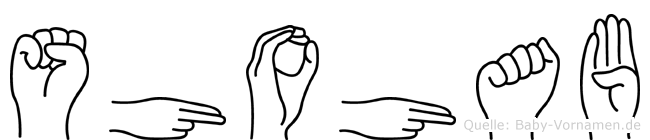 Shohab in Fingersprache für Gehörlose